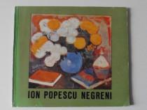 Album de arta pictura ion popescu negreni carte cu autograf