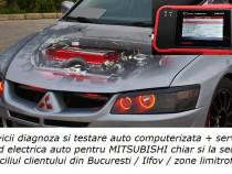 Diagnoza auto test Mitsubishi service electrica la domiciliu