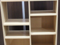 Dulapior cu rafturi; Etajera; Biblioteca cu polite; Raft