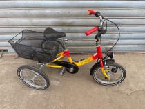 """Bicicleta HAVERICH 16"""" cu trei roti"""