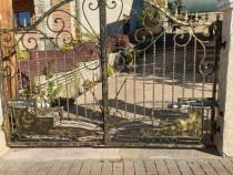 Gard din fire forjat sau tabla decupata sau lemn
