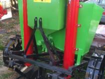 Plantatoare cartofi cu fertilizare Masina plantat cartofi