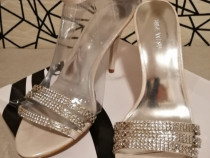 Sandale NINE WEST argintii