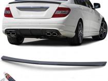Eleron negru lucios Mercedes C Klasse W204 Limousine