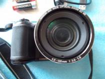 Nikon l820, 16,2mega cmos, 30x, full hd stereo, foto 3D