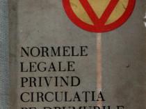 Normele legale privind circulaţia pe drumurile publice