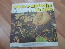 Vinil De la o melodie.. la alta, Electrecord, 1971, made i