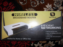 SERIOUX, Broadband Router, wireless, 4 porturi 10/100Mbps, n