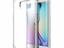 Husa silicon ultra thin samsung s6 edge + clear - produs nou