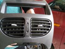 Grile aer inserti aluminiu set complet Peugeot 206