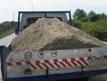 Transportam  balast .nisip. sorturi .diverse