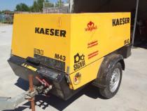 Inchiriere motocompresor Kaeser M 43