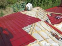 Vopsim tabla pe casa si ferme metalice ,ne deplasam in toata