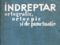 Îndreptar ortografic, ortoepic şi de punctuaţie, 1-a ediţie