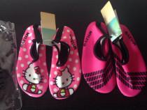 Papuci Hello Kitty de plaja,apa,baie,slapi fete,fetite 28-29