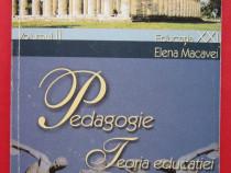 Pedagogie. Teoria Educatiei, Elena Macavei, 2002