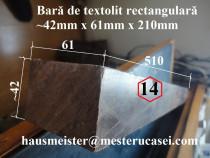 Bara rectangulara de textolit