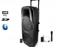 """Boxa portabila Ibiza Sound 2X10 """",600W"""