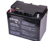 Acumulator cu gel Vipow 12V 75Ah
