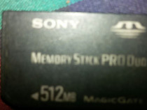 Card Sony -pro duos