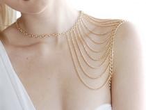 Lant de umar,fashion,auriu sau argintiu