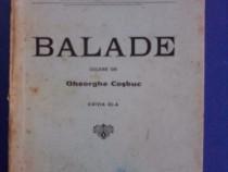 Balade culese de Gheorghe Cosbuc 1926 / C64P