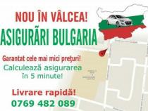 Asigurari inmatriculari bulgaria