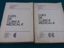 Curs de clinică medicală/ 2 vol/ anul v/ v. pompilian/ 1976