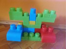 18 piese Apel Plastik, se potrivesc cu cele Mega Bloks