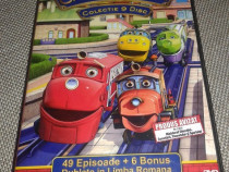 Chuggington - 9 DVD-uri Desene Animate Dublate Romana