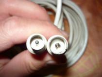 Cablu coaxial antena 7 m cu mufe conectare