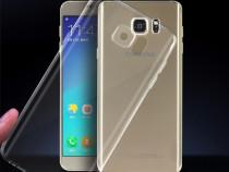 Samsung S7 S7 Edge Husa Silicon/Transparenta/Fumurie Ultra
