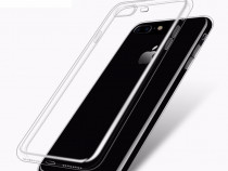 Iphone 7 Plus Husa Silicon/Transparenta cu Protectie Camera