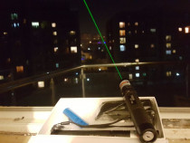 Laser Verde pointer 10.000mw+baterie 6800mah NOU 10km