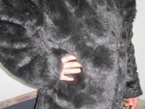 Cojoc dama blana(Mouton Dore)elegant,gros-ieftin