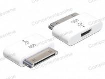 Adaptor IPhone, iPad, 30 pini tata, la micro USB mama-129673