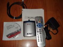 Tuner TV Pinnacle PCTV 400e,USB 2.0, tuner TV & radio sateli