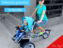 Kangobike - bicicleta-carucior 2in1 convertibila * Originala