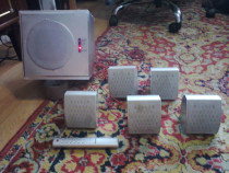 Sistem audio 5+1 cdv cu telecomanda