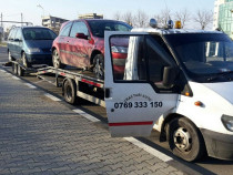 Tractări auto non stop România și Bulgaria