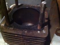 Chiulasa cilindru  motor lombardini 490