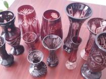 Vaze cristal rubin Vintage