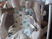 Leagăn bebe Kinderkraft - folosit 3 luni. Conectare priza/ba