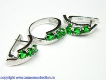 Set bijuterii argint rodiat Model ST452211