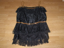 Costum carnaval serbare rochie dans pentru adulti marime L