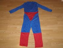 Costum carnaval serbare superman pentru copii de 8-9 ani