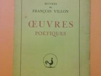 Poesies - Francois Villon 1931 / R7P4F Ed. Rene Hilsum , 1