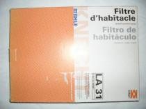 MAHLE, LA 31, Franta-Austria, filtru de aer auto dreptunghiu