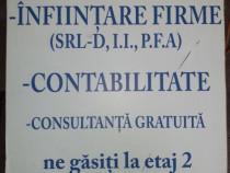 Infiintare firma  si contabilitate Viseu de Sus