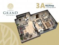 Apartament 3 camere Conest Grand Residence vizavi de Mall